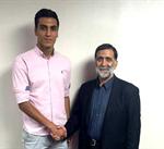دروازهبان تیم ملی جوانان ایران، سرباز تراکتورسازی شد