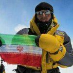 عظیم قیچی ساز، برترین کوهنورد سال ۹۴ کشور شد