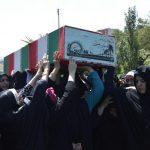 تصاویر / تشییع پیکر ۵ شهید دفاع مقدس در تبریز