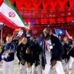 پرچمدار کانادایی ایران در اختتامیه المپیک +عکس