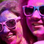 تصاویر/ جشنواره رنگ در ازمیر ترکیه