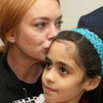 تصاویر/ دیدار بازیگر هرزه هالیوود با آوارگان سوری