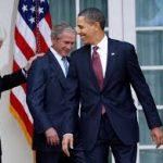 اوباما مخالف سرسخت جورج دابلیو بوش در زمینه حضور نیروهای آمریکا در عراق بود
