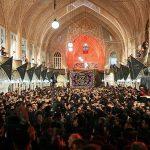 به اوج رسیدن عزاداریها در بزرگترین بازار مسقف جهان