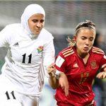 تصاویر/ دختران محجبه تیم ملی اردن