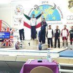 قهرمانی تیم آذربایجان شرقی در مسابقات وزنه برداری پیشکسوتان جهان