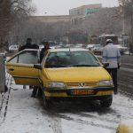 با تاکسیهای تکسرنشین برخورد میشود