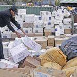 کشف ۱۰۵میلیون ریال کالای خارجی قاچاق در راه آهن تبریز