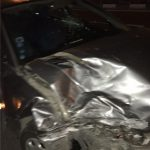 بامداد امروز رخ داد سانحه رانندگی برای مجری ورزشی ۲۰:۳۰+تصاویر