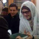 عروس ایتالیایی در حرم امام رضا (ع) مسلمان شد