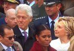 چشم چرانی بیل کلینتون و خشم هیلاری! + فیلم