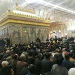 آغاز مراسم تشییع و تدفین آیتالله هاشمی رفسنجانی در حرم امام (ره)