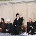 مراسم ترحیم آیتالله هاشمی رفسنجانی با حضور رهبر انقلاب