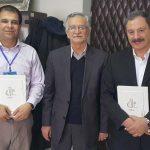 انعقاد قرارداد همکاری علمی با دو تن از اساتید برجسته ایرانی خارج از کشور