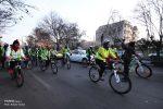 همایش دوچرخه سواری همگانی به مناسبت روز هوای پاک در تبریز