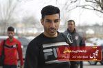 چمن نامطلوب ورزشگاه یادگار و گله مندی محمد ایرانپوریان