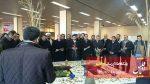 غبارروبی و عطر افشانی قبور مطهر شهدای گمنام دانشگاه آزاد تبریز