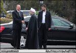 استقبال رسمی روحانی از رئیسجمهور آذربایجان + تصاویر