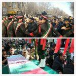۹ تن از شهدای دفاع مقدس در آذربایجان شرقی تشییع شدند