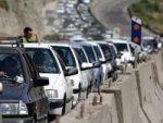 ترافیک سنگین در جاده های زنجان حاکم است