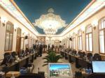 پروژه مرمت و نوسازی سالن جلسات شورای شهر تبریز