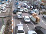عکس/ برخورد شدید سه خودرو در خیابان آذربایجان یک مصدوم برجای گذاشت