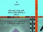 کتاب نقوش جاجیم و گلیم در زنجان به چاپ رسید