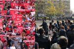هواداران تراکتور سربلند، آذربایجانی ها سرفراز!